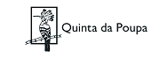 Logo Quinta da Poupa - a Hoopoe bird sitting on a branch